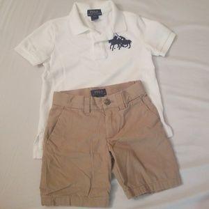 Boys Polo Outfit